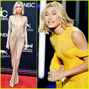 Hailey Baldwin Rocks Two Glam Outfits for BBMAs 2018!