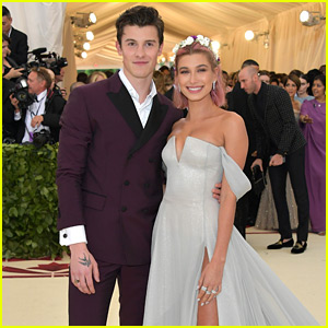 Shawn Mendes & Hailey Baldwin Confirm Relationship on Met Gala 2018 Red Carpet