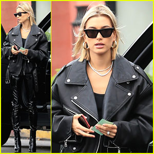 Hailey Baldwin Preps For Billboard Music Awards 2018
