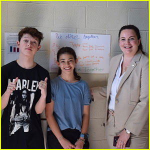 Jacob Sartorius Surprises Be Strong Student Ambassadors