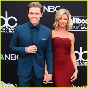 Jesse McCartney Brings Girlfriend Katie Peterson to Billboard Music Awards 2018