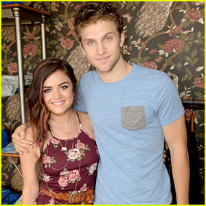 Keegan Allen Dishes on How Lucy Hale & Troian Bellisario's Photos in New Book 'Hollywood' Came To Be