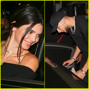 Kendall Jenner & Rumored New BF Ben Simmons Hang Out in West Hollywood!