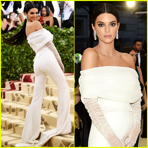 Kendall Jenner Is White Hot in Pants at Met Gala 2018!