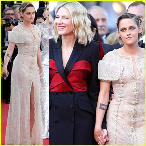 Kristen Stewart Glams Up for Final Cannes Red Carpet