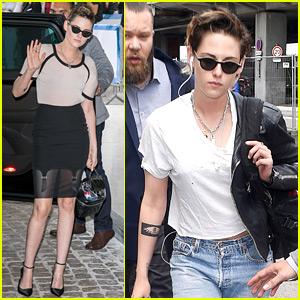 Kristen Stewart Attends a Cannes Jury Dinner