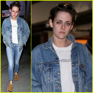 Kristen Stewart Keeps It Casual & Trendy for Her Movie Night Out!