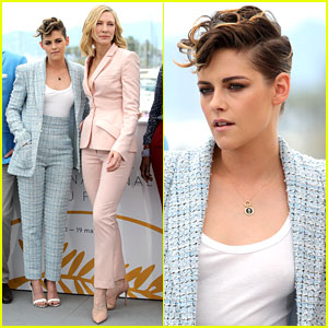 Kristen Stewart Wears Chanel Suit to Cannes Film Festival Jury Photo Call