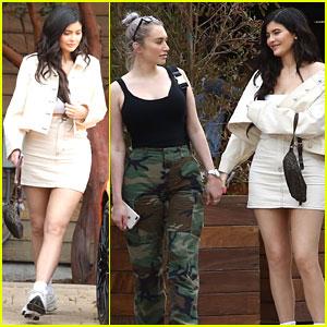 Kylie Jenner Holds Hands with Anastasia Karanikolaou