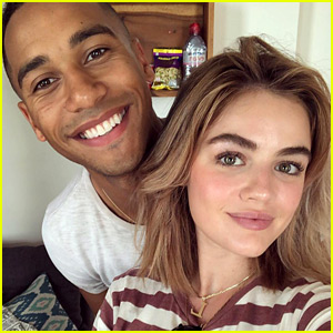 Lucy Hale Reunites with Elliot Knight For Cambodia Trip