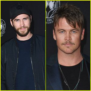 Liam & Luke Hemsworth Look Handsome at the Premiere of 'Andy Iron's Kissed By God'!