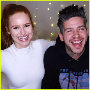 Madelaine Petsch Tests Travis Mills' 'Riverdale' Season 2 Knowledge