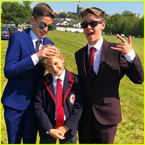 Max & Harvey Are Proud of Their Little Brother Singing at the Royal Wedding