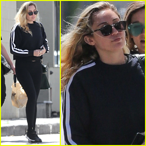 Miley Cyrus Spends the Afternoon Hanging Out with Friends!