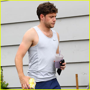 Niall Horan Works On His Fitness During a Break From Tour