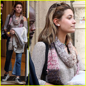 Paris Jackson Flaunts Her Fun Style After Touching Down in Paris!