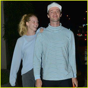Patrick Schwarzenegger & Abby Champion Make a Cute Couple at Dinner!