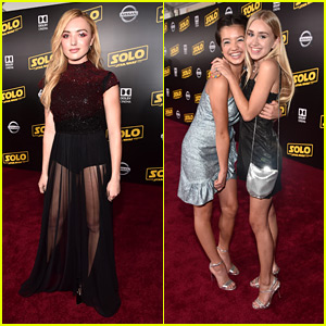 Peyton List & Peyton Elizabeth Lee Step Out For 'Solo: A Star Wars Story' Premiere in LA