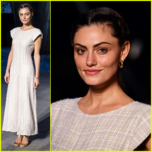 Phoebe Tonkin Brings Pure Elegance To Chanel Cruise Fashion Collection Show in Paris