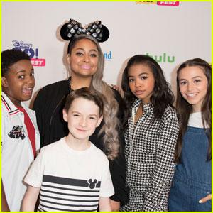 Raven Symone Joins 'Raven's Home' Cast at Disney Channel GO! Fan Fest