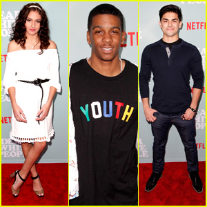 Ronni Hawk, Diego Tinoco & Brett Gray Step Out at 'Dear White People' Premiere
