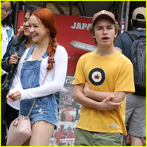 Sadie Stanley Rocks Red Hair Just Before Filming 'Kim Possible' Movie
