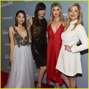 Sasha Pieterse, Arden Cho & Meghan Rienks Premiere 'The Honor List' in LA