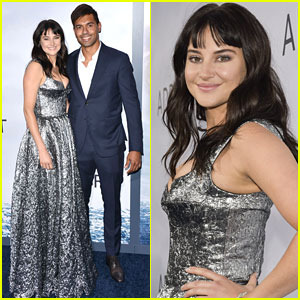 Shailene Woodley & Boyfriend Ben Volavola Make Red Carpet Debut