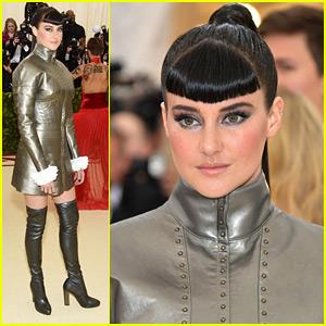 Shailene Woodley Rocks Custom Ralph Lauren To Met Gala 2018