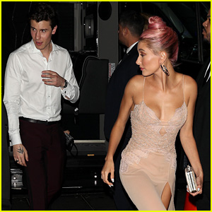 Shawn Mendes & Hailey Baldwin Are a Cute Couple at Met Gala 2018 After Party!