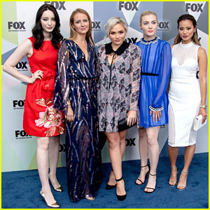 Skyler Samuels & Natalie Alyn Lind Attend Fox Upfront Party