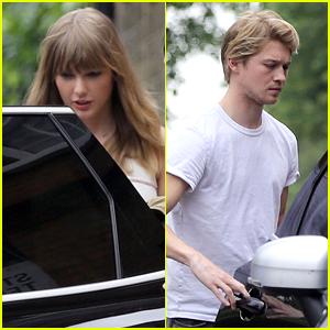 Taylor Swift Grabs Lunch with Boyfriend Joe Alwyn in London!