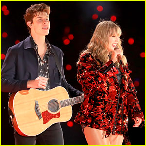 Watch Taylor Swift & Shawn Mendes Perform 'There's Nothing Holding Me Back' (Video)