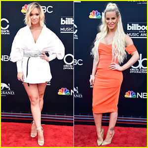 YouTube Stars Alisha Marie & Gigi Gorgeous Attend Billboard Music Awards 2018