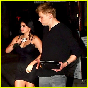 Ariel Winter & Boyfriend Levi Meaden Have Romantic Sushi Dinner Date