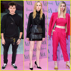Brooklyn Beckham Joins Ellie Bamber & Anya Taylor-Joy at V&A Summer Party!