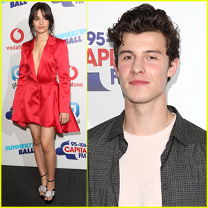 Camila Cabello & Shawn Mendes Rock Out at SummerTime Ball in London!