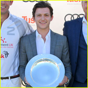Tom Holland Meets the Royals at Audi Polo Challenge!