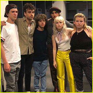 Gaten Matarazzo & His Siblings Join Paramore On Stage In NYC