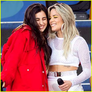 Halsey Brings Out Special Guest Lauren Jauregui During 'GMA' Performance - Watch Now!