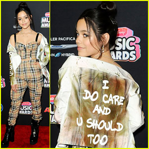 Jenna Ortega Says 'I Do Care' with Jacket Choice at Radio Disney Music Awards 2018!