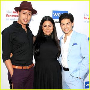 'On My Block' Stars Jessica Marie Garcia & Diego Tinoco Attend Tony Awards Party in LA