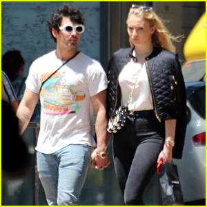 Joe Jonas & Fiancee Sophie Turner Spend Time Together in Spain!