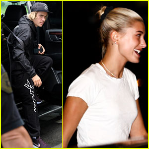 Justin Bieber & Hailey Baldwin Attend Church Conference in Miami