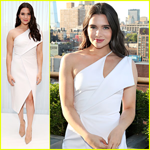 Katie Stevens Attends Rachel Zoe Bridal Launch Event