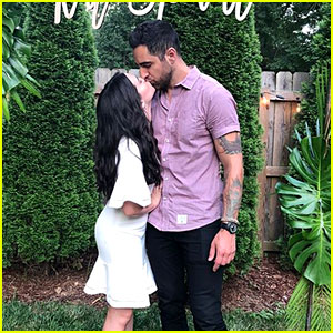 Katie Stevens Shares Photos From Her & Paul DiGiovanni's Engagement Party!
