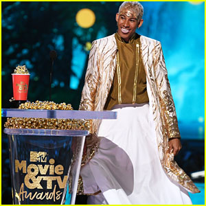 Keiynan Lonsdale Gives Inspiring Speech at MTV Movie & TV Awards 2018!