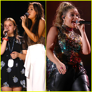 Lennon & Maisy Stella Join Lauren Alaina at CMA Fest Night 2018!