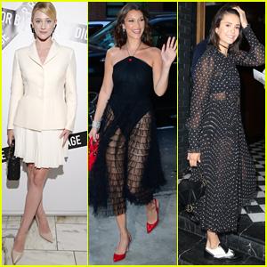 Lili Reinhart Joins Bella Hadid & Nina Dobrev at Dior Fashion Event!