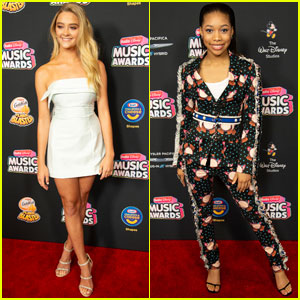 Lizzy Greene & Kyla Drew Simmons Look So Chic at Radio Disney Music Awards 2018